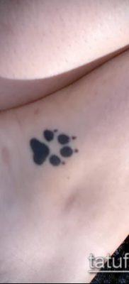 фото тату кошачьи лапки (значение) – пример интересного рисунка тату – 049 tatufoto.com