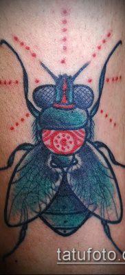 фото тату муха (значение) – пример интересного рисунка тату – 003 tatufoto.com