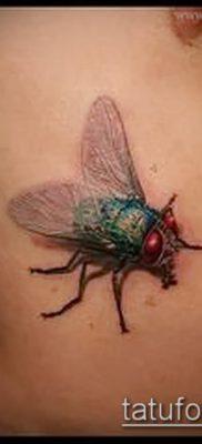 фото тату муха (значение) – пример интересного рисунка тату – 004 tatufoto.com
