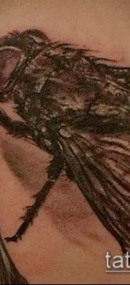 фото тату муха (значение) – пример интересного рисунка тату – 005 tatufoto.com
