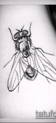 фото тату муха (значение) – пример интересного рисунка тату – 006 tatufoto.com