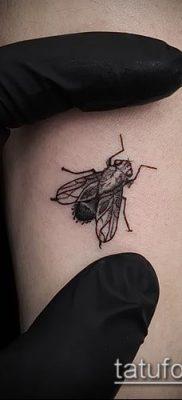 фото тату муха (значение) – пример интересного рисунка тату – 007 tatufoto.com