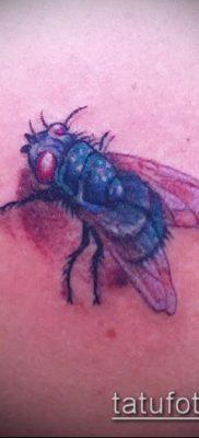 фото тату муха (значение) – пример интересного рисунка тату – 015 tatufoto.com