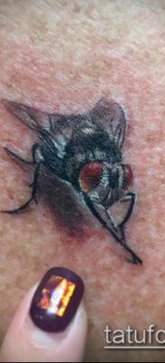 фото тату муха (значение) – пример интересного рисунка тату – 027 tatufoto.com