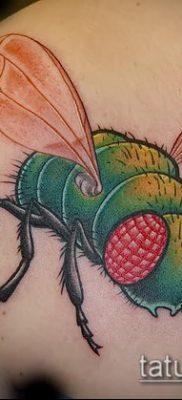 фото тату муха (значение) – пример интересного рисунка тату – 029 tatufoto.com