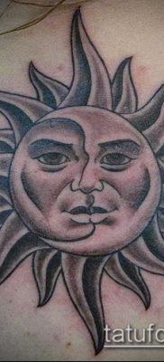 фото тату солнце и луна (значение) – пример интересного рисунка тату – 002 tatufoto.com