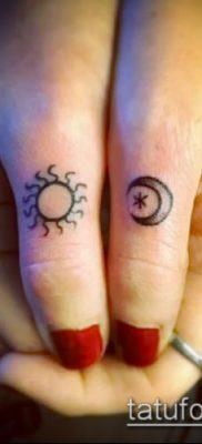 фото тату солнце и луна (значение) – пример интересного рисунка тату – 003 tatufoto.com