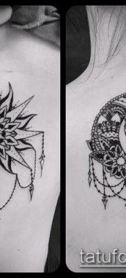 фото тату солнце и луна (значение) – пример интересного рисунка тату – 012 tatufoto.com