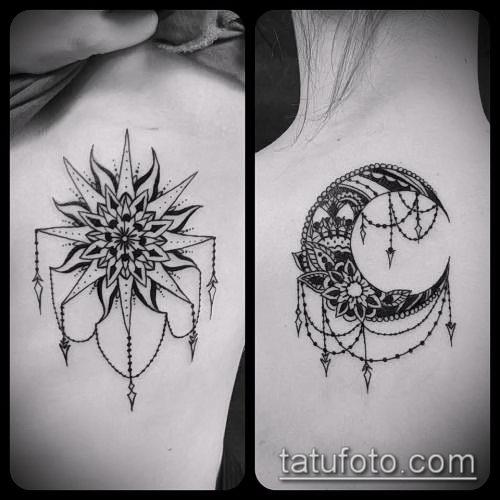 Татуировка солнце значение и фото