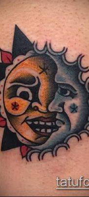 фото тату солнце и луна (значение) – пример интересного рисунка тату – 019 tatufoto.com