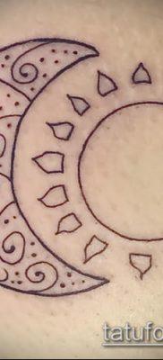 фото тату солнце и луна (значение) – пример интересного рисунка тату – 021 tatufoto.com