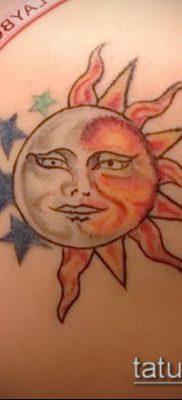 фото тату солнце и луна (значение) – пример интересного рисунка тату – 022 tatufoto.com