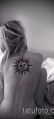 фото тату солнце и луна (значение) – пример интересного рисунка тату – 023 tatufoto.com