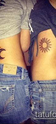 фото тату солнце и луна (значение) – пример интересного рисунка тату – 028 tatufoto.com