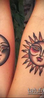 фото тату солнце и луна (значение) – пример интересного рисунка тату – 040 tatufoto.com