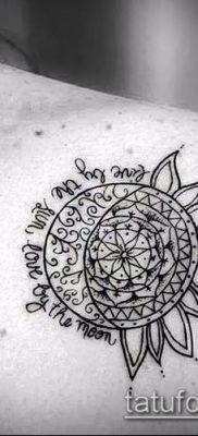 фото тату солнце и луна (значение) – пример интересного рисунка тату – 041 tatufoto.com