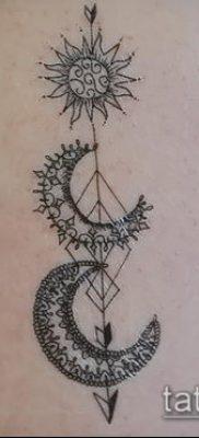 фото тату солнце и луна (значение) – пример интересного рисунка тату – 042 tatufoto.com