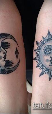 фото тату солнце и луна (значение) – пример интересного рисунка тату – 048 tatufoto.com