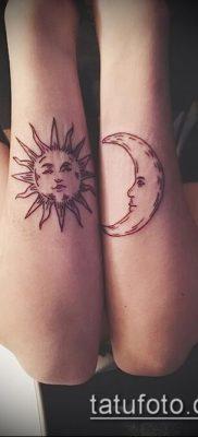 фото тату солнце и луна (значение) – пример интересного рисунка тату – 050 tatufoto.com