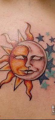 фото тату солнце и луна (значение) – пример интересного рисунка тату – 051 tatufoto.com