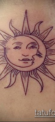 фото тату солнце и луна (значение) – пример интересного рисунка тату – 052 tatufoto.com