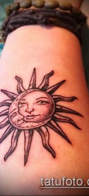 фото тату солнце и луна (значение) – пример интересного рисунка тату – 055 tatufoto.com