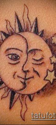 фото тату солнце и луна (значение) – пример интересного рисунка тату – 059 tatufoto.com
