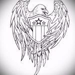 эскиз военных тату №103 - классный вариант рисунка, который удачно можно использовать для доработки и нанесения как тату военно морского флота