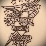 эскиз военных тату №733 - эксклюзивный вариант рисунка, который легко можно использовать для преобразования и нанесения как тату военная разведка летучая мышь