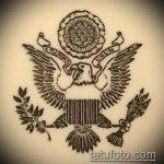 эскиз военных тату №718 - достойный вариант рисунка, который хорошо можно использовать для переработки и нанесения как тату военная разведка