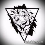 эскиз тату глаз в треугольнике №896 - крутой вариант рисунка, который успешно можно использовать для преобразования и нанесения как тату глаз в треугольнике на плече