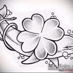 эскиз тату дельфин №219 - крутой вариант рисунка, который легко можно использовать для доработки и нанесения как татуировка дельфин значение на ноге