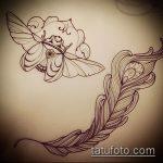 эскиз тату жук №150 - достойный вариант рисунка, который хорошо можно использовать для доработки и нанесения как татуировка жук на среднем пальце