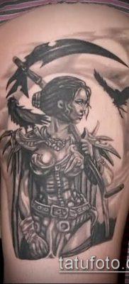 фото тату Амазонка (значение) – пример интересного рисунка тату – 012 tatufoto.com