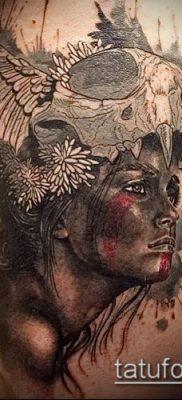 фото тату Амазонка (значение) – пример интересного рисунка тату – 015 tatufoto.com