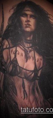 фото тату Амазонка (значение) – пример интересного рисунка тату – 018 tatufoto.com