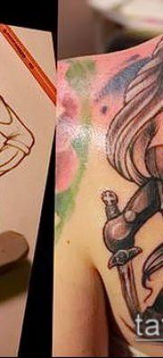 фото тату Амазонка (значение) – пример интересного рисунка тату – 022 tatufoto.com