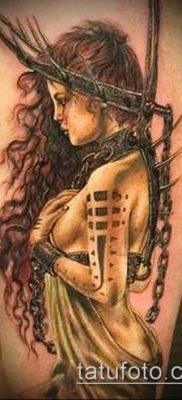 фото тату Амазонка (значение) – пример интересного рисунка тату – 023 tatufoto.com