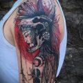 фото тату Амазонка (значение) - пример интересного рисунка тату - 035 tatufoto.com