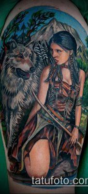 фото тату Амазонка (значение) – пример интересного рисунка тату – 036 tatufoto.com