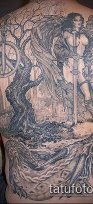 фото тату Амазонка (значение) – пример интересного рисунка тату – 038 tatufoto.com