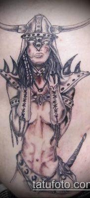фото тату Амазонка (значение) – пример интересного рисунка тату – 045 tatufoto.com
