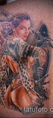 фото тату Амазонка (значение) – пример интересного рисунка тату – 049 tatufoto.com