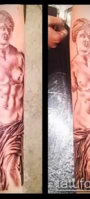 фото тату Афродита (Венера) (tattoo Venus) (значение) – пример рисунка – 006 tatufoto.com