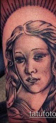 фото тату Афродита (Венера) (tattoo Venus) (значение) – пример рисунка – 014 tatufoto.com
