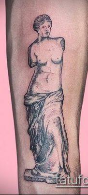 фото тату Афродита (Венера) (tattoo Venus) (значение) – пример рисунка – 016 tatufoto.com