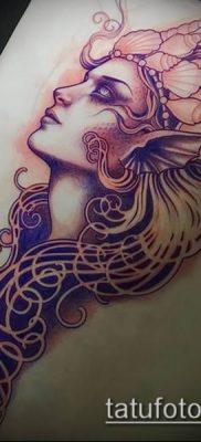 фото тату Афродита (Венера) (tattoo Venus) (значение) – пример рисунка – 017 tatufoto.com