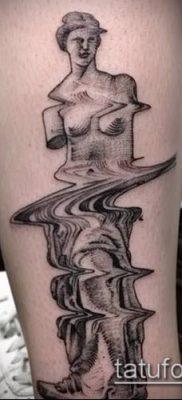 фото тату Афродита (Венера) (tattoo Venus) (значение) – пример рисунка – 018 tatufoto.com