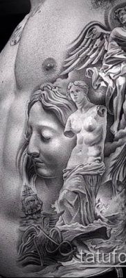 фото тату Афродита (Венера) (tattoo Venus) (значение) – пример рисунка – 020 tatufoto.com