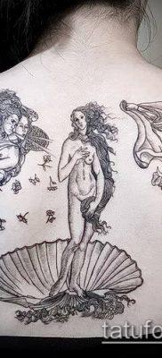 фото тату Афродита (Венера) (tattoo Venus) (значение) – пример рисунка – 021 tatufoto.com